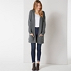 Chunky Oversized Patch Pocket Cardigan