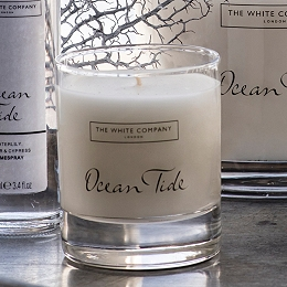 Ocean Tide Signature Candle