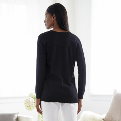 Oversized Lurex Sweater