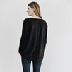Oversized Back Split Sweater