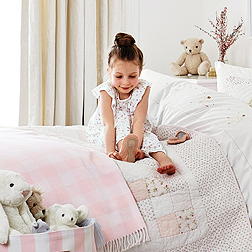 Olivia Picot Trim Jersey Pyjamas