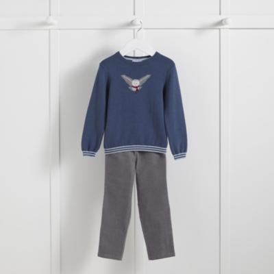 Owl Sweater & Pants Set (1-6yrs)