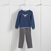 Owl Sweater & Pants Set (1-6yrs)