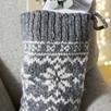 Fair Isle Christmas Stocking Stockings The White