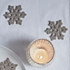 Sparkle Snowflake Table Scatters Set of 20