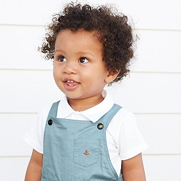 Short Sleeve Polo Bodysuit