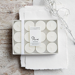 Pure Tealights set of 12