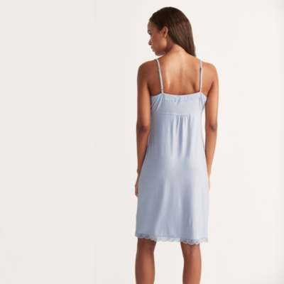 Placket Detail Nightgown