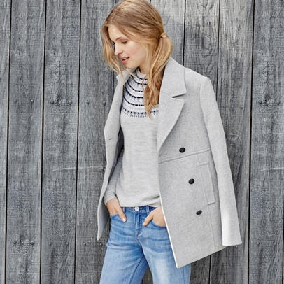 The Pea Coat | Clothing | The White Company UK