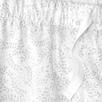 Poplin Leaf Print Pajama Bottoms