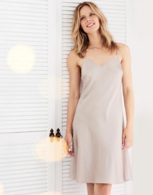Silk Short Nightgown