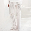Woven Stripe Pajama Pants - Pink Gray