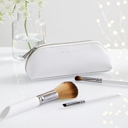Luxury Brush Case & 4 Brushes