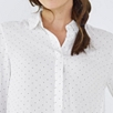Pin Dot Half Placket Shirt