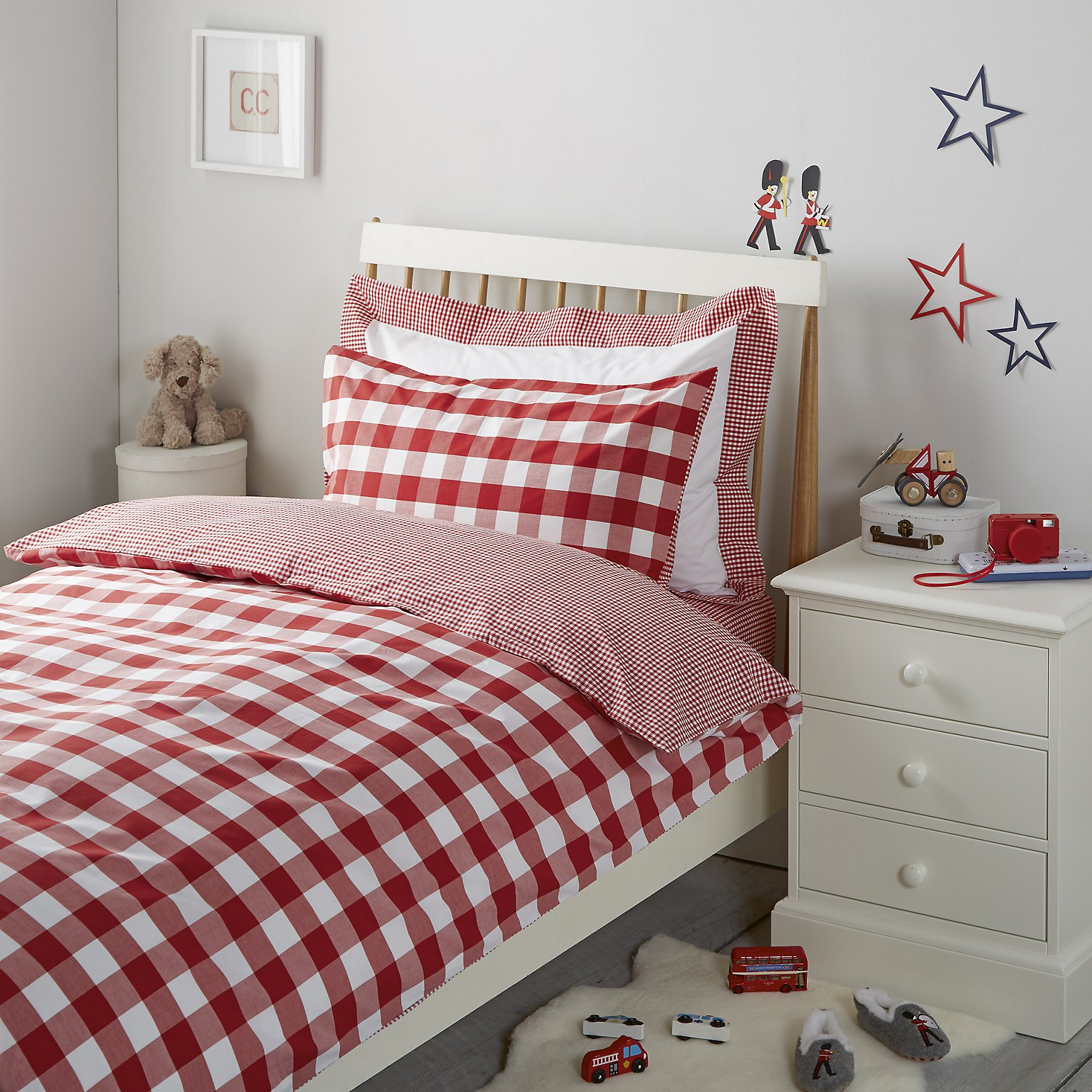 Red Gingham Duvet Cover - Sweetgalas : red gingham quilt - Adamdwight.com