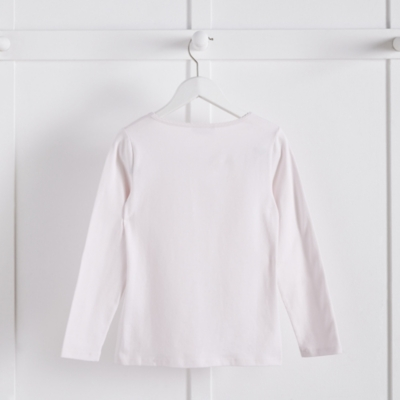 Picot Trim T-Shirt (5-10yrs)