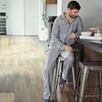 Men's Pajama Set With Bag