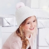 Purl Knit Pompom Hat
