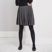 Pleated Drop Waist Skirt