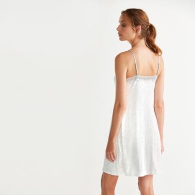 Leaf Print Nightgown