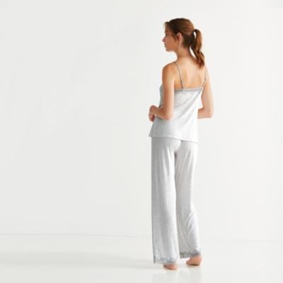 Leaf Print Pajama Set