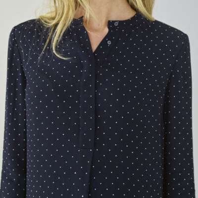 Pin Dot Shirt Dress