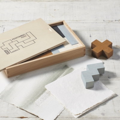 Pentomino Wooden Puzzle