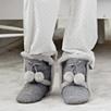 Pompom Boot Slippers