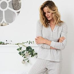 Pointelle Pajama Top