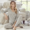 Pointelle Lace Pajama Top