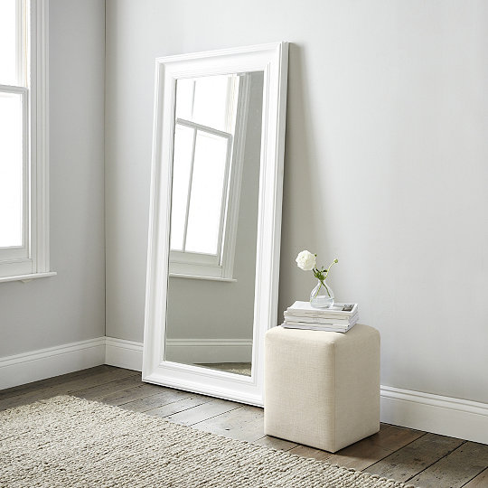 Portland Floor Mirror | Mirrors | The White Company UK