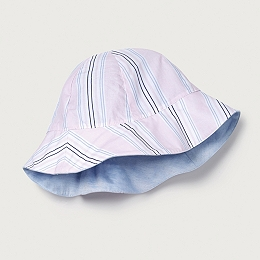 Reversible Stripe Sun Hat