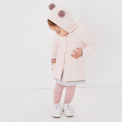 Pom-Pom Hooded Cardigan - The White Company