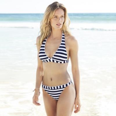 Pom Pom Trim Bikini Briefs