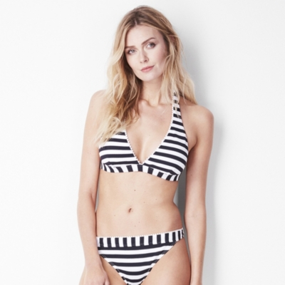 Pom Pom Trim Bikini Top