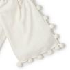 Pom Pom Knitted Scarf