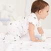 Pirate's Life Baby Sleepsuit - White
