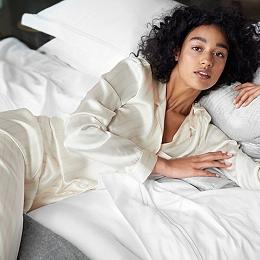 Silk Stripe Pyjama Set