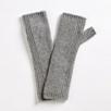 Purl Stitch Cashmere Wrist Warmers