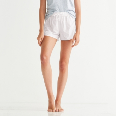 Poplin Striped Shorts
