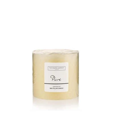 Small Pure Pillar Candle