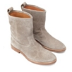 Pull On Suede Boot
