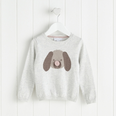 Puppy Face Sweater (2-6yrs)