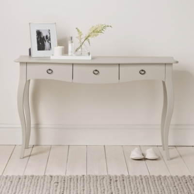 Provence Console Table Bedroom Furniture The White