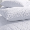 Quilted Cotton Pillow Protector, European