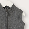 Quilted Knitted Gilet