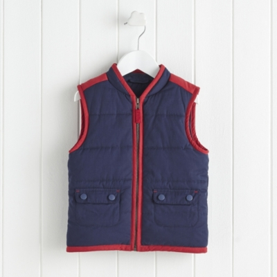 Quilted Gilet (1-6yrs)