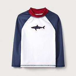 Shark Rash Guard (1-6yrs)