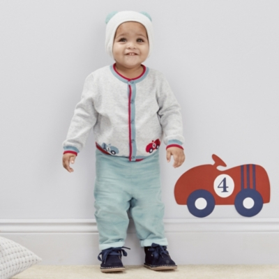 Racing Car Cardigan