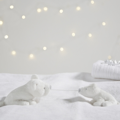 Mummy and Baby Lumi Polar Bear Toy